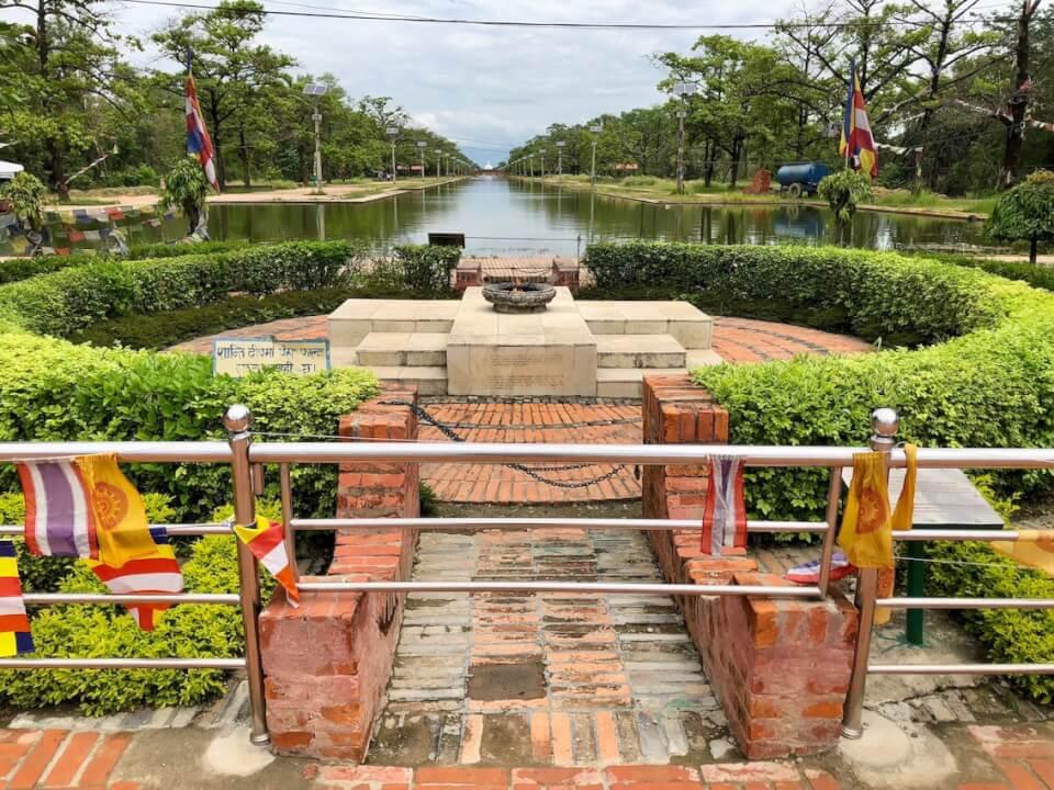World Peace Pagoda. Lumbini