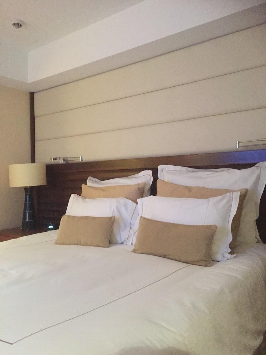 God sovekomfort på Jumeirah Frankfurt