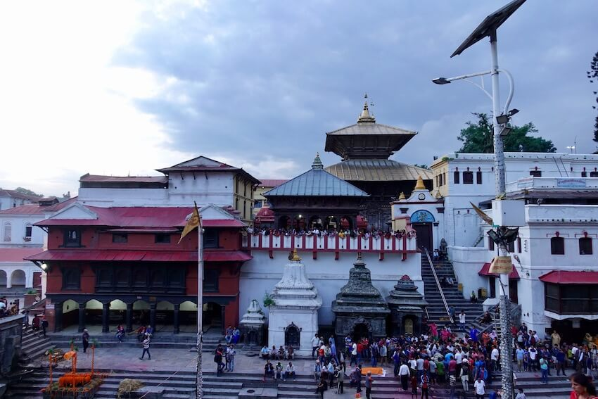 Pashupatinath tempel, Kathmandu