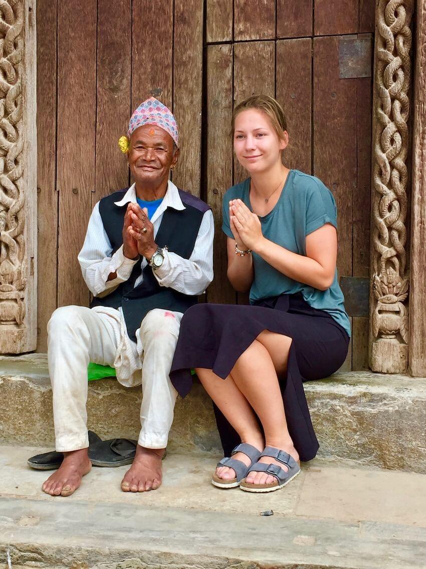 Namaste, vanligste hilsemåte for nepals befolkning