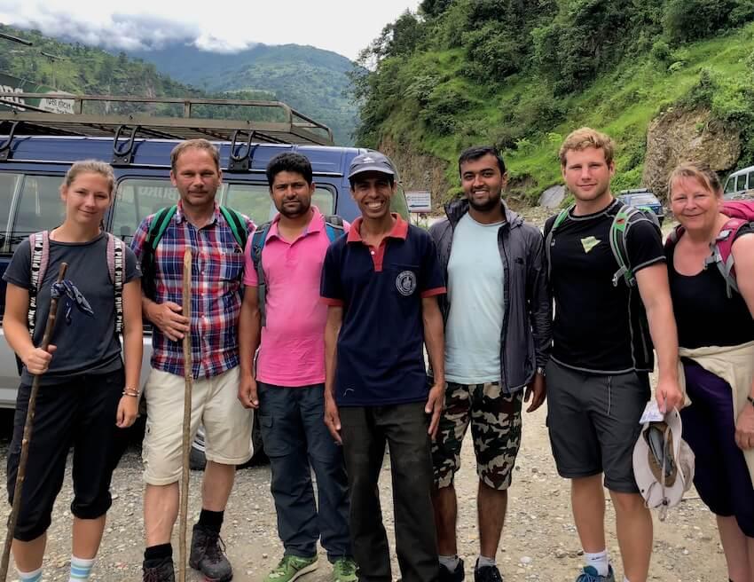 Trening i Nepal