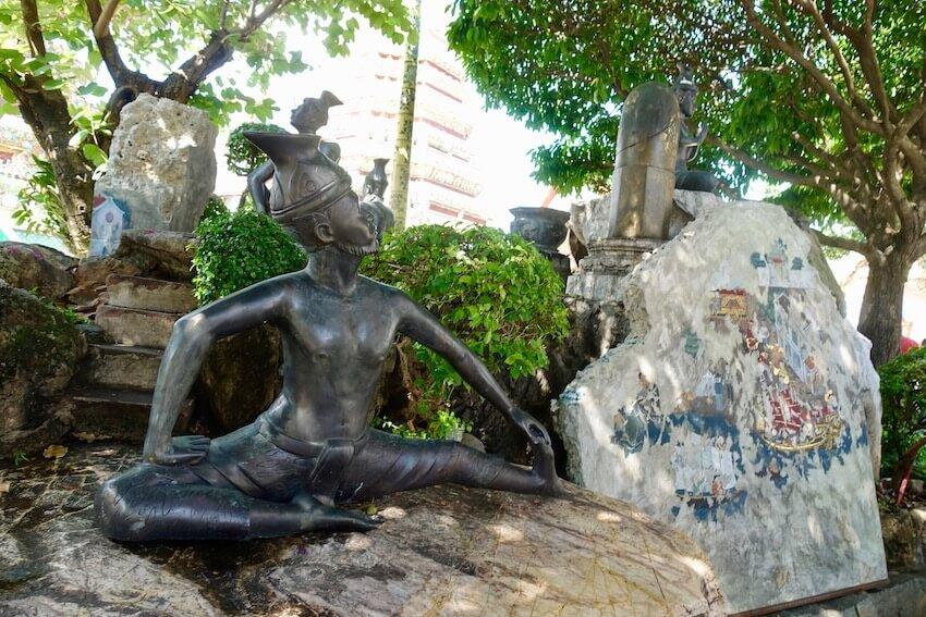 Bidra, Wat Pho. Attraksjoner i Bangkok