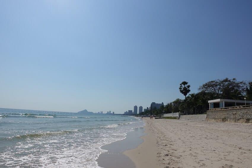 Strandpromenaden Hua Hin