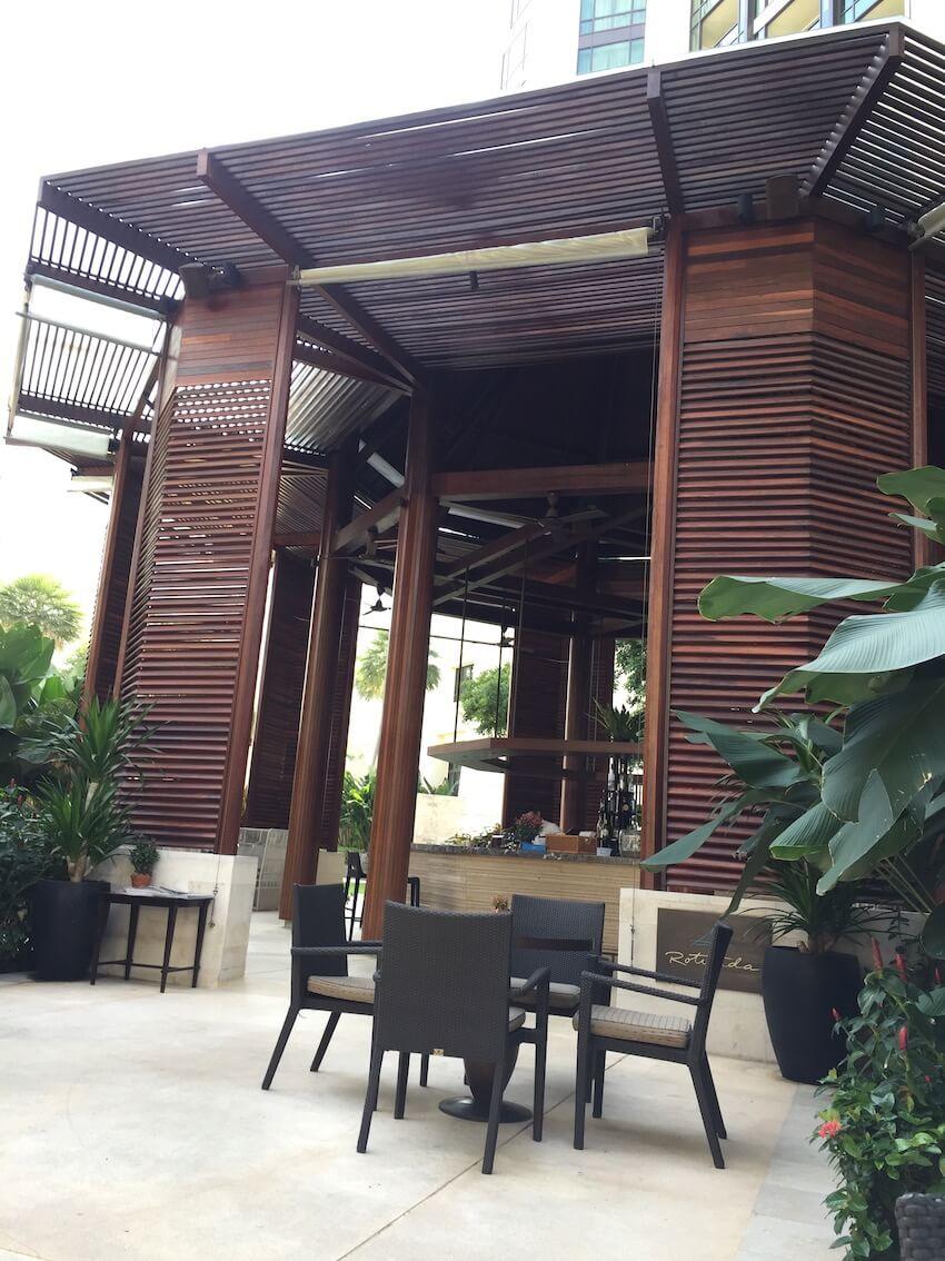 Barområdet og lusnjbar på Siam Kempinski hotel