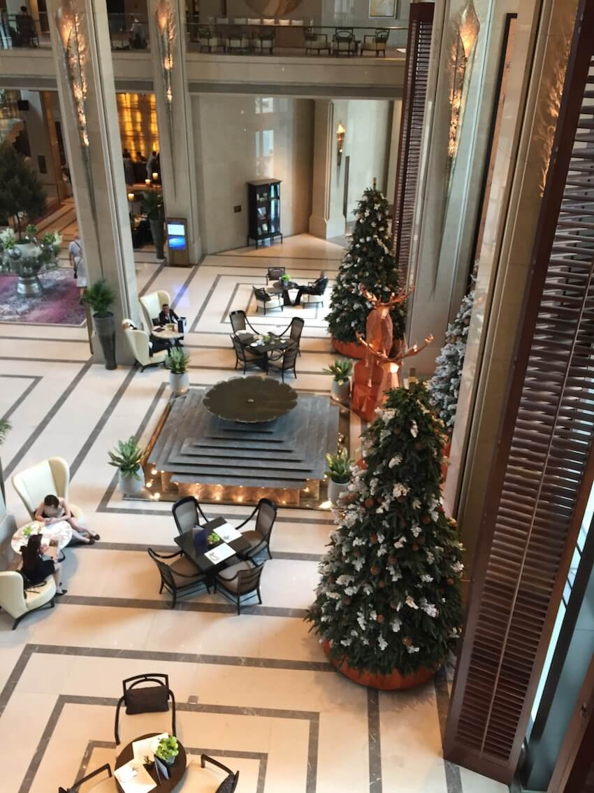 Siam Kempinski Hotel review, sentralt i Bangkok