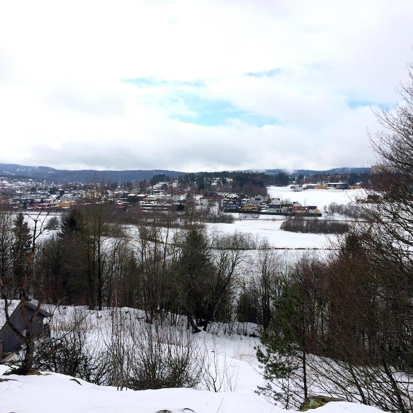 Utsikt fra Hammerberget