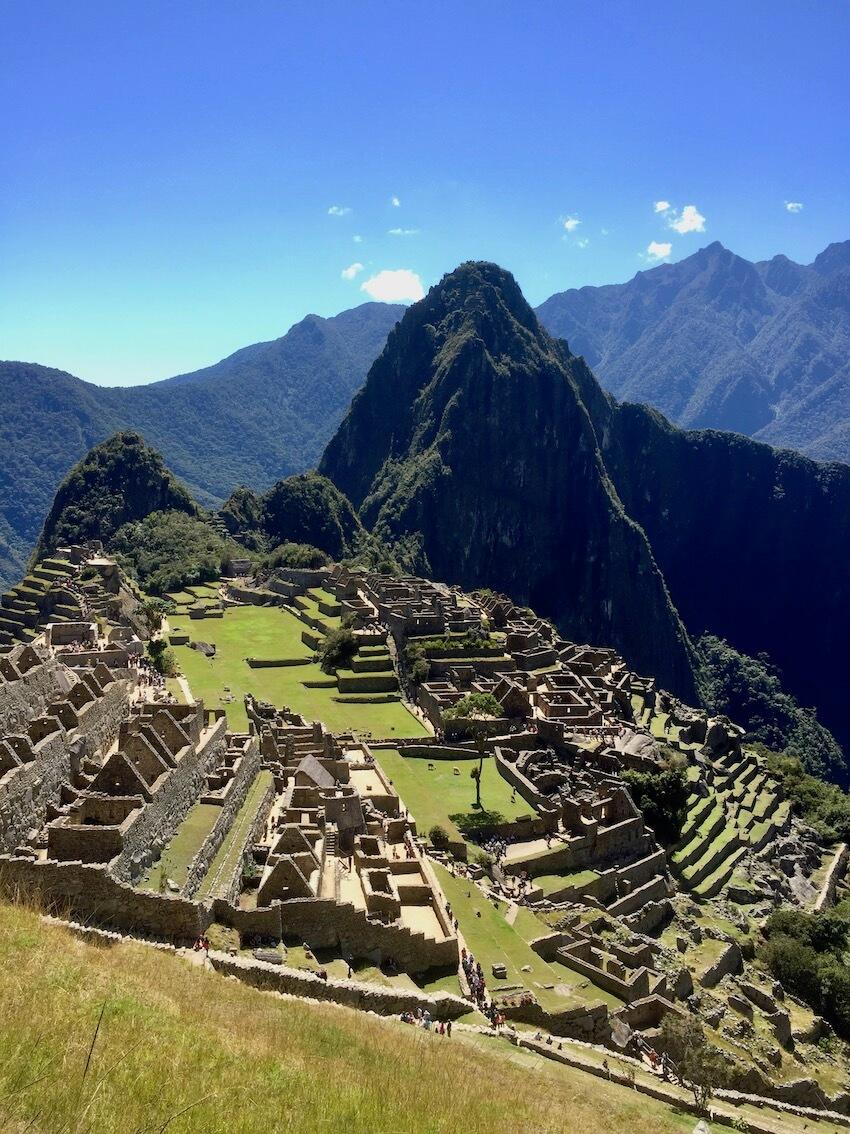 Macchu Pichu, Peru. Sør-Amerika