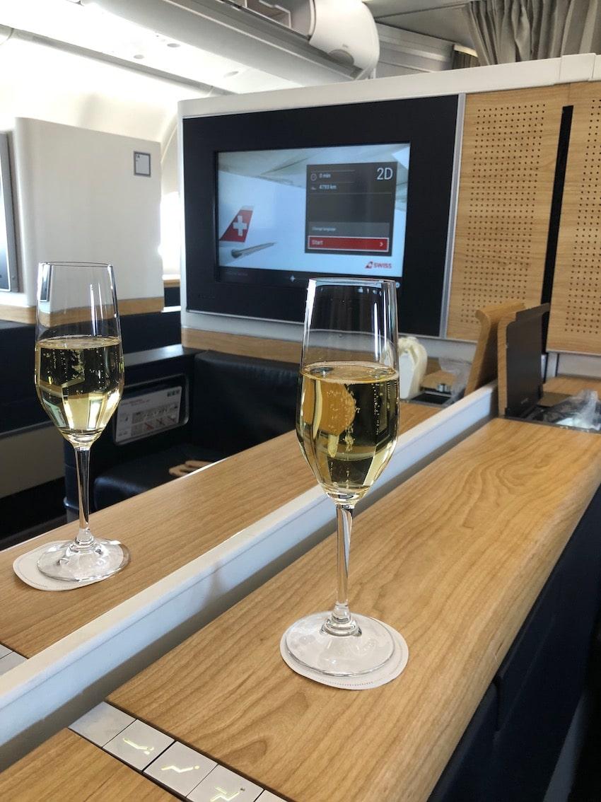 Swiss airline til Sør-Amerika