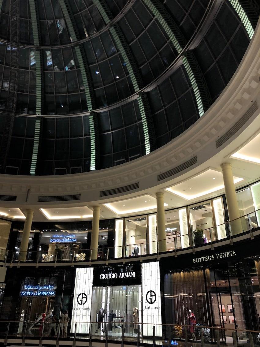 Verdens største kjøpesenter, Kempinski Mall of the Emirates