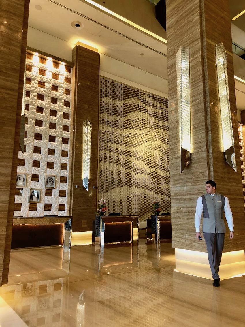 Resepsjonsområdet, Kempinski Mall of the Emirates