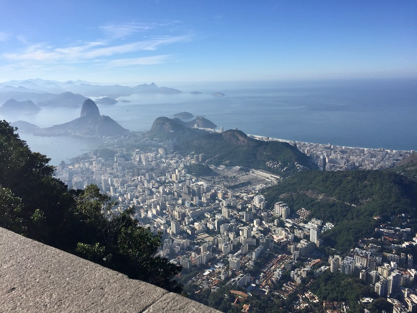 Utsikt fra kristusstatuen, Rio