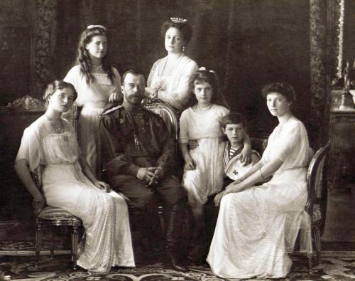 Tsarfamilien i 1913