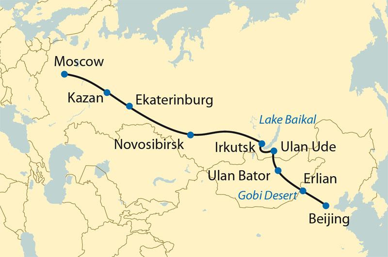Transsibirske jernbane. Zarengold.