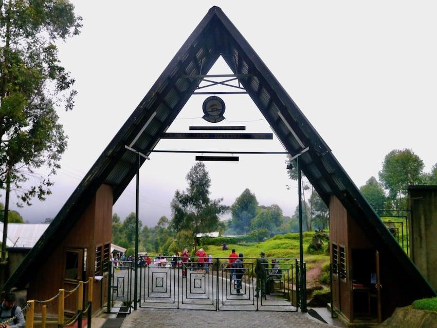Gaten ved Machame route, Kilimanjaro