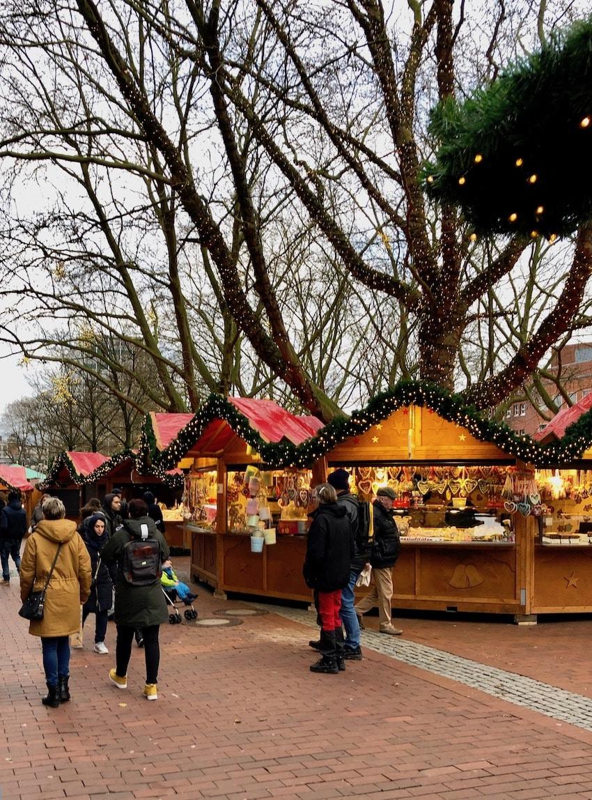 Julemarked i Kiel, Tyskland