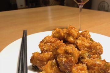 home made crispy sesame chicken