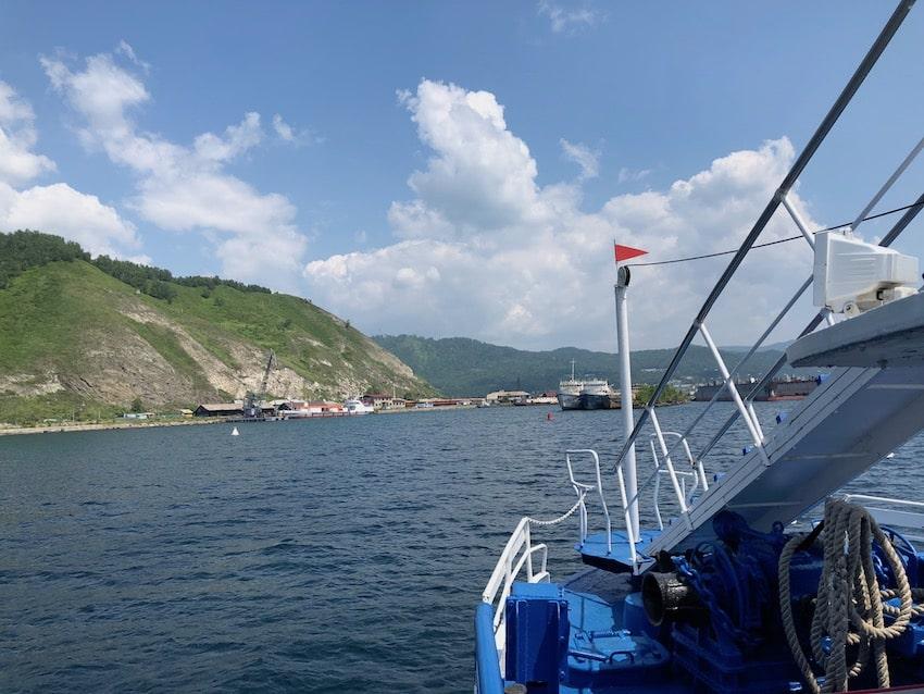 Port Baikal, Bajkalsjøen. Verdens dypeste innsjø.
