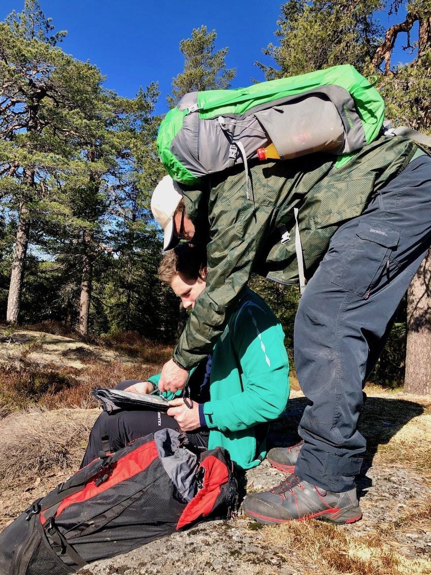 Lørenskogs høyeste topp Svartåsen, 361 moh