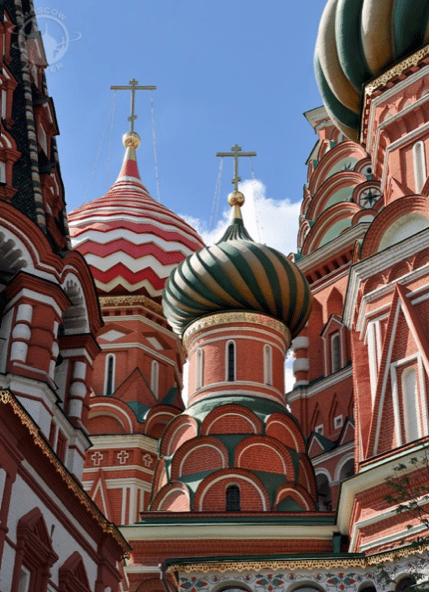 Detaljer av tårnene, Vasilijkatedralen