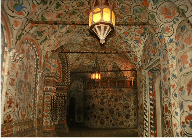 Detaljer innvendig, Vasilijkatedralen
