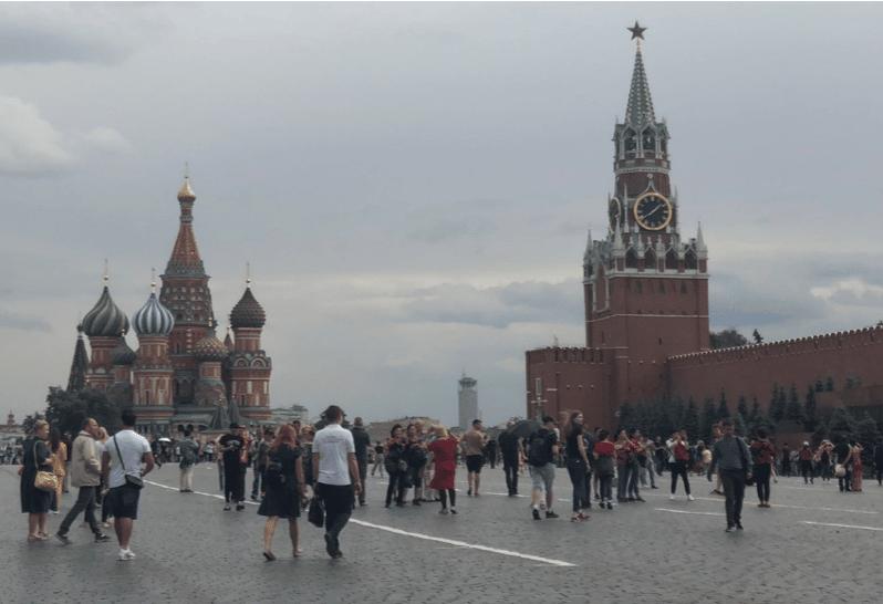 Den røde plass, Moskva