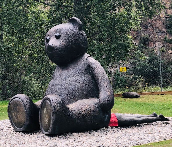 Skulpturer i Kistefos Skulpturpark