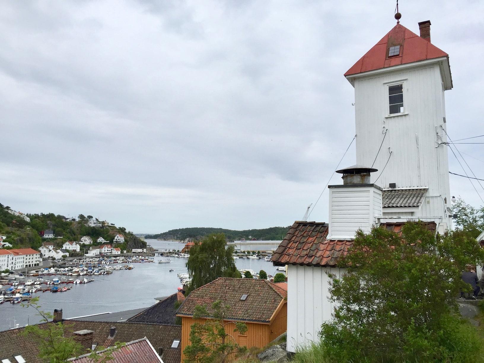 Branntårnet ble oppført i 1880-årene