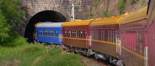 Circum-Baikal Railway –  en reise langs Baikalsjøen