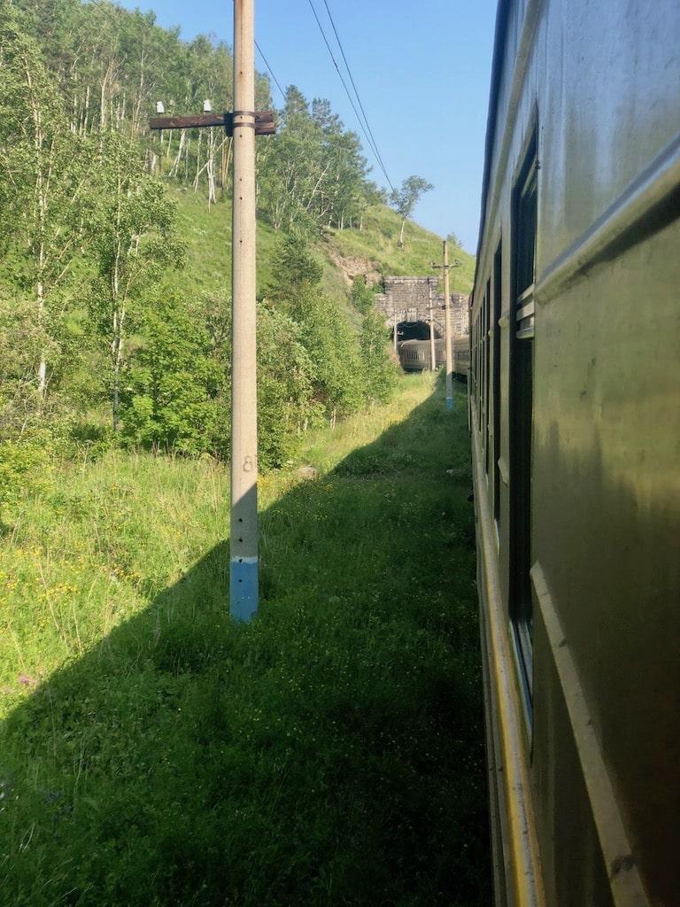 Tunnels, Circum-Baikal Railway