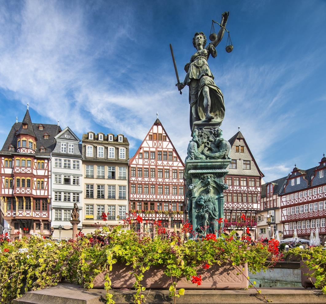 Attraksjoner i frankfurt, gamlebyen