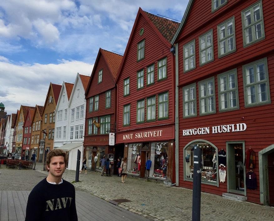 Bryggen. Opplevelser i Bergen
