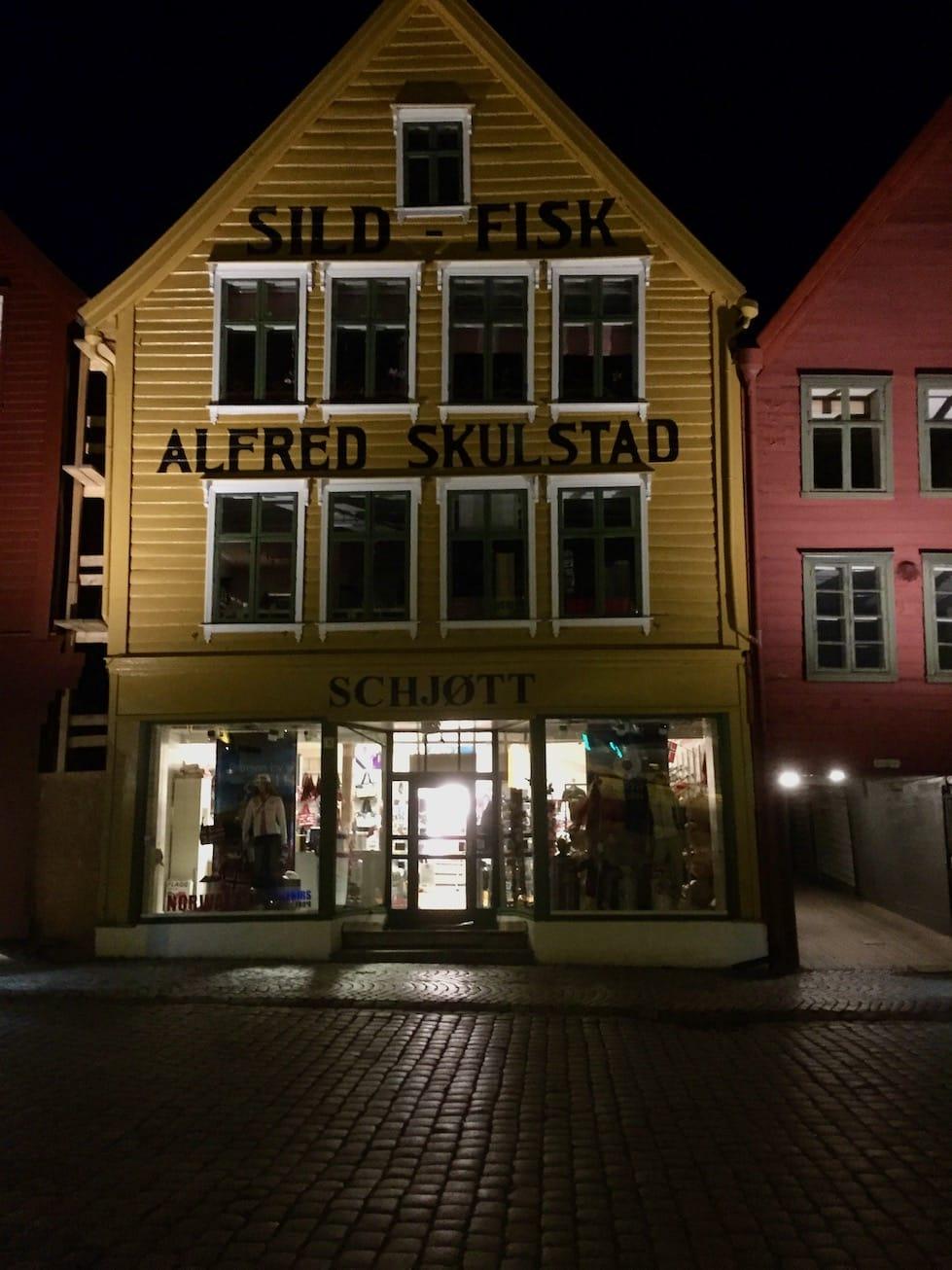 Bryggen. Opplevelser i Bergen.