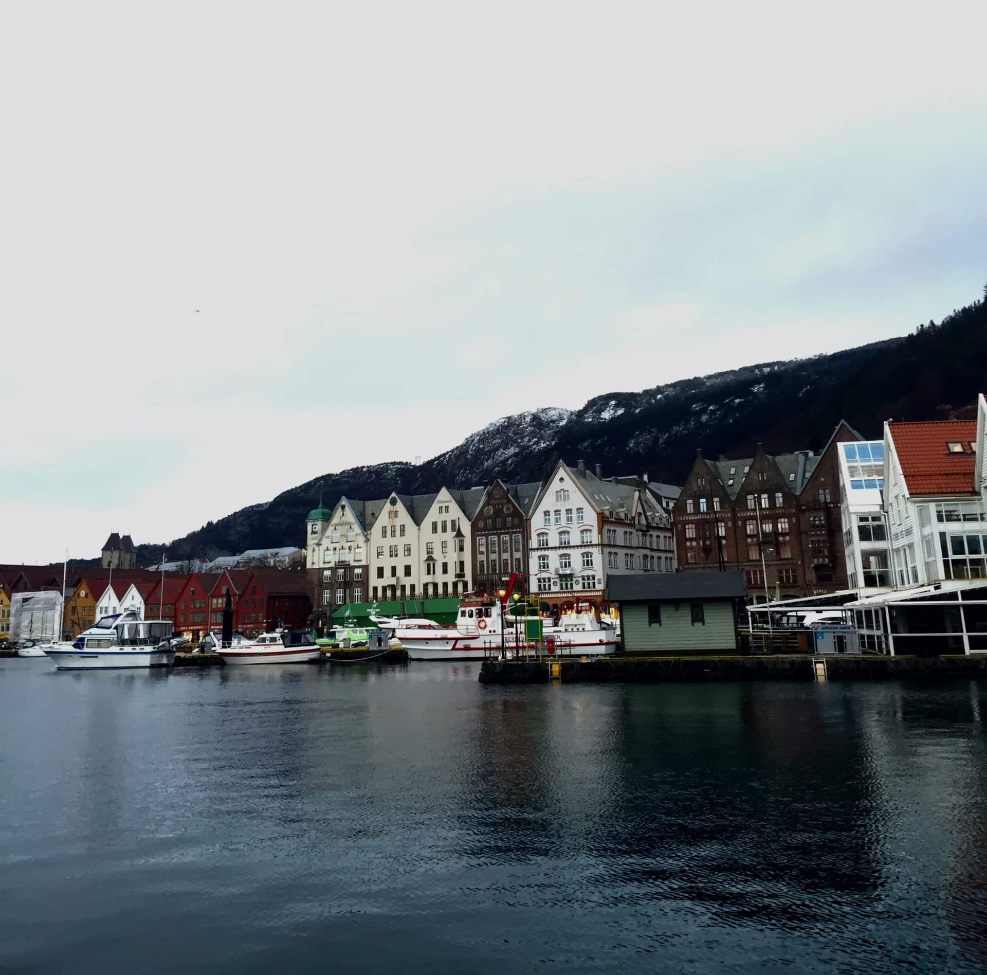 brygge. Opplevelser i Bergen