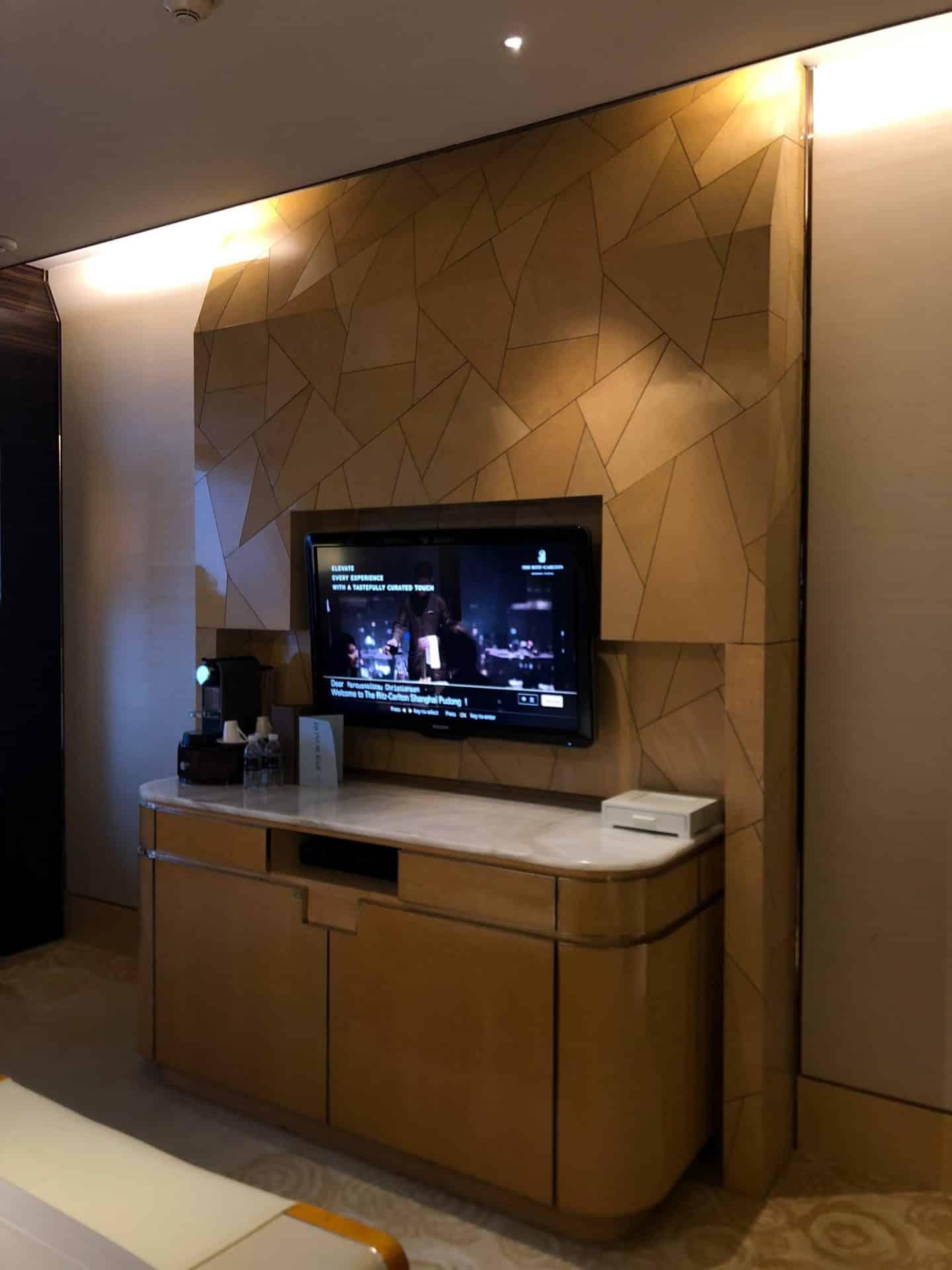Rommene på The Ritz-Carlton Shanghai