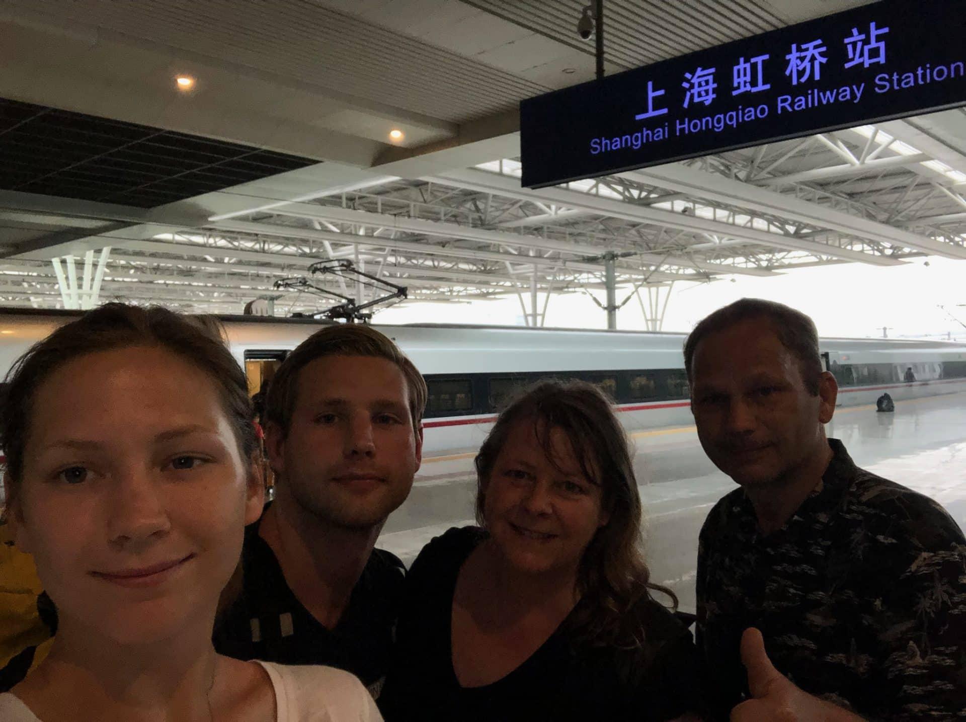 Shanghai Hongqiao jernbanestasjon