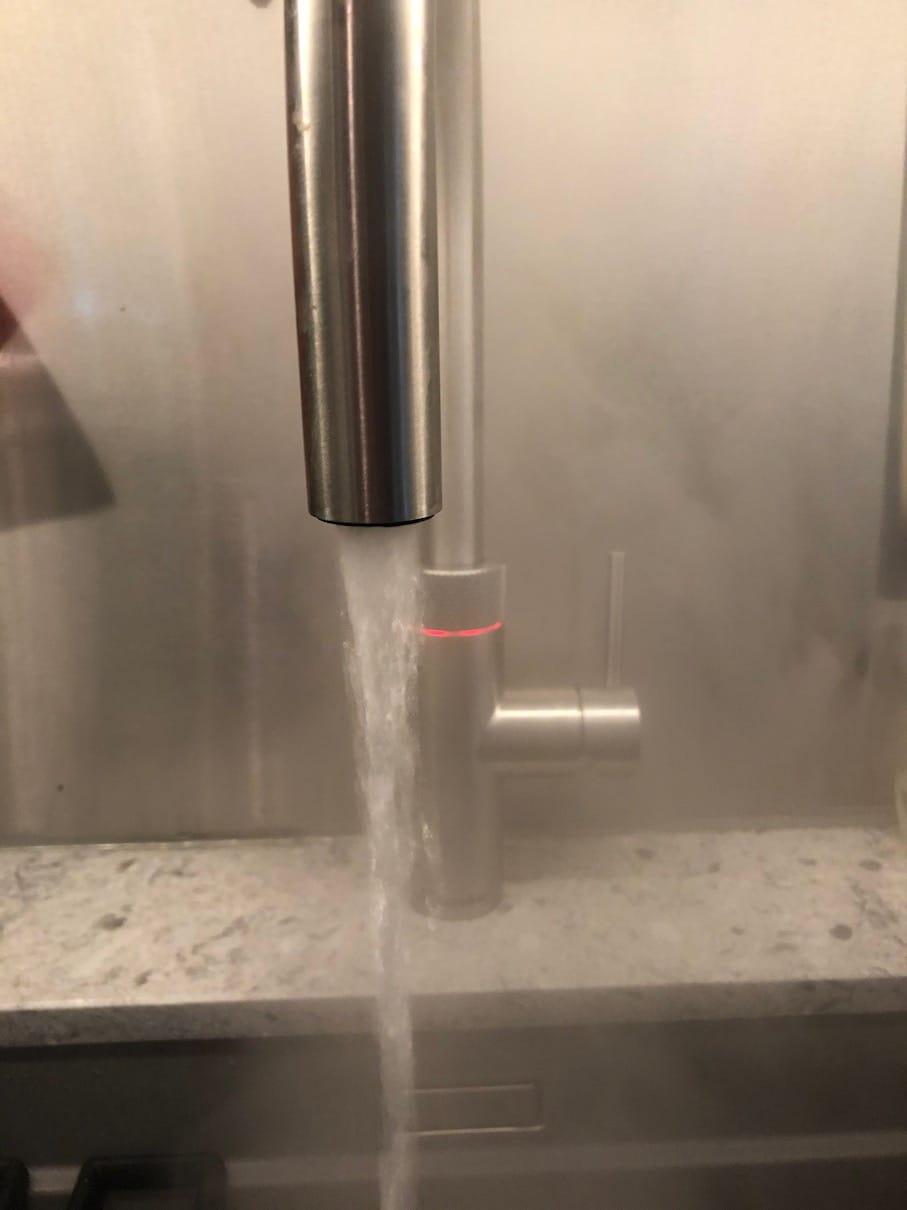 Quooker, kokende vann rett fra kranen