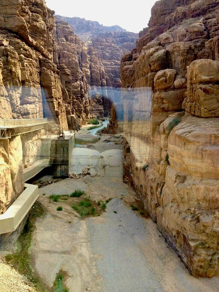 Mujib Reserve of Wadi Mujib – Arnon, 410 m under havet