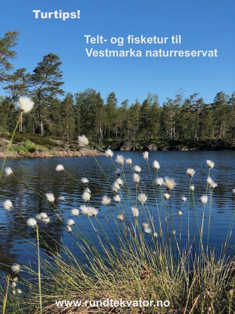 Telt- og fisketur til Vestmarka naturreservat