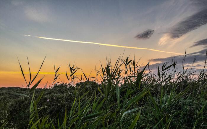 roemoe-solnedgang