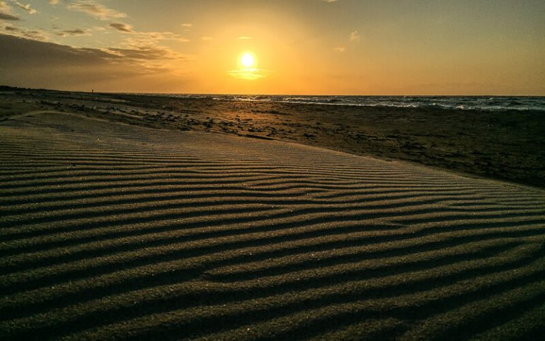 anholt-solnedgang