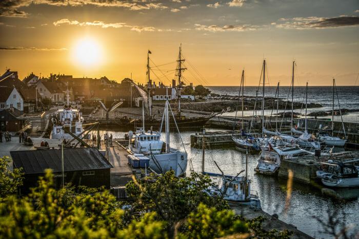 gudhjem-havn-bornholm