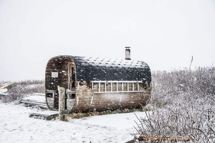 venoe-sauna