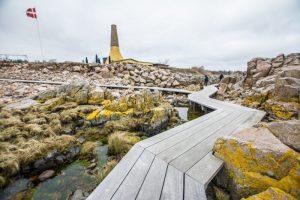Kystpromenaden i Allinge – Bornholm