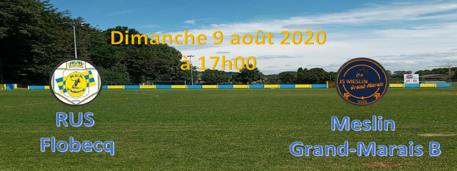 RUS Flobecq – Meslin Grand-Marais B (amical)