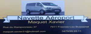 Navette aéroport Xavier Maquet
