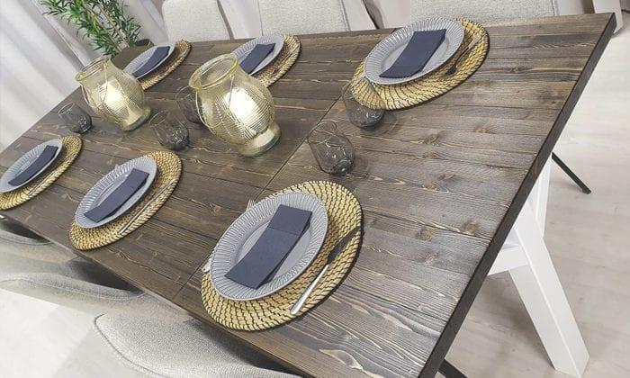 Matbord med klaff, från Rustikunik Design
