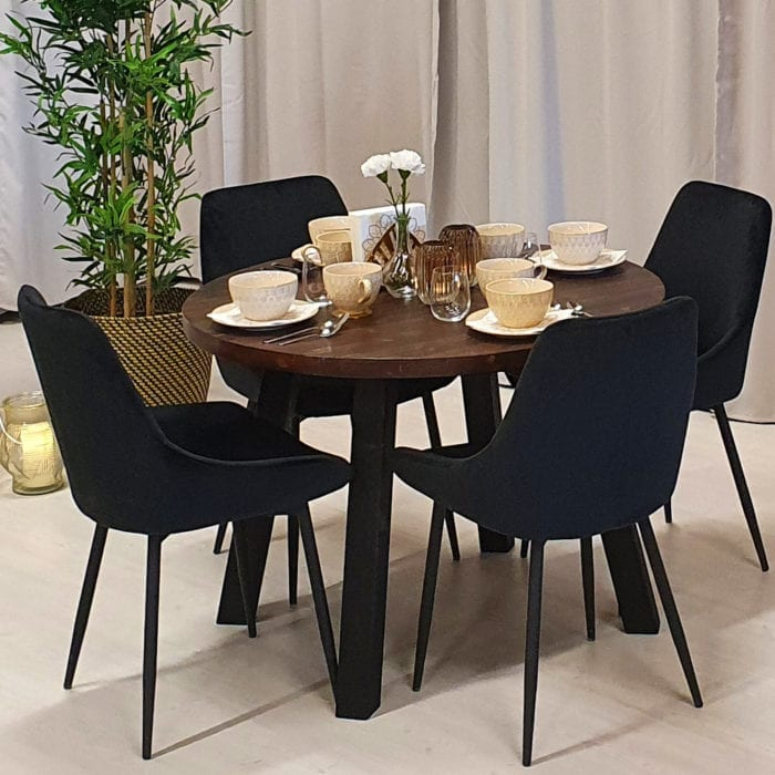 Runt matbord från Rustikunik Design