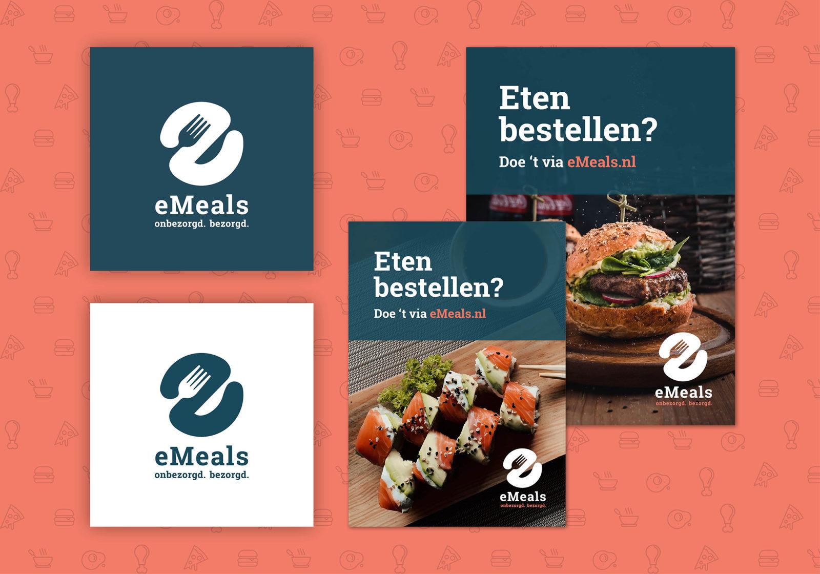 Logo ontwerp huisstijl eMeals