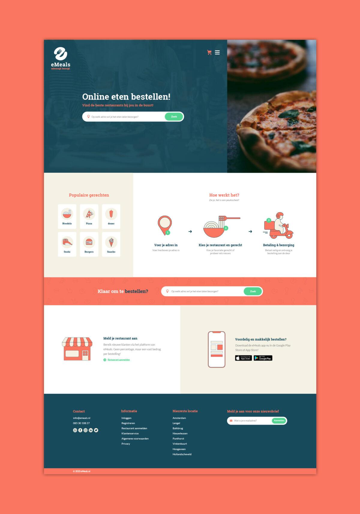 Webdesign eMeals