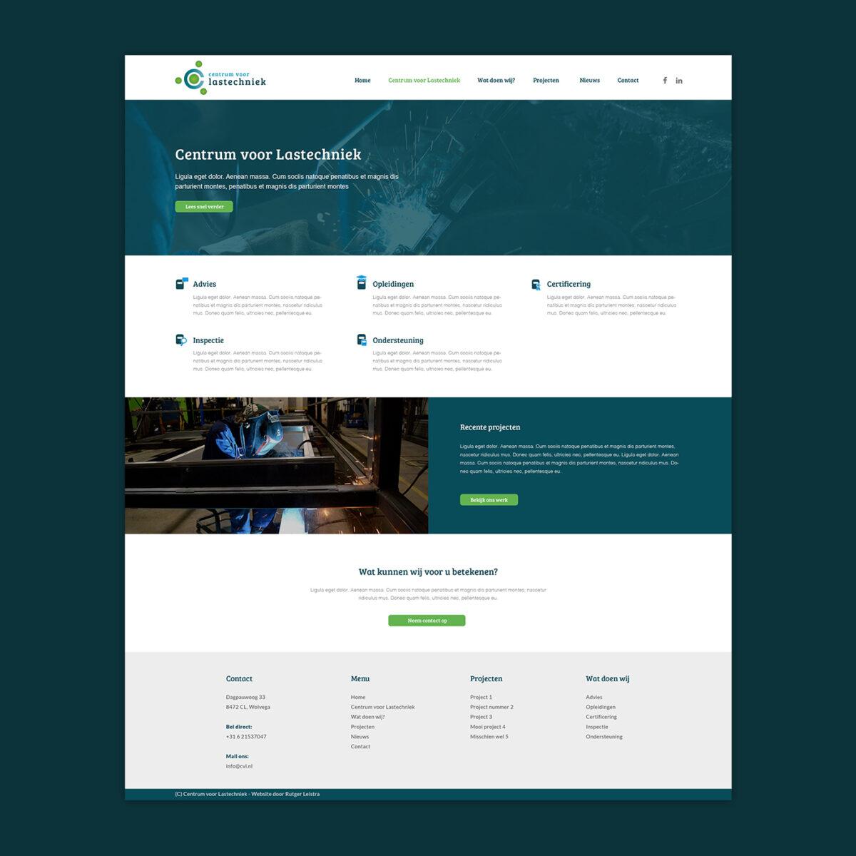 Huisstijl, webdesign Centrum voor Lastechniek